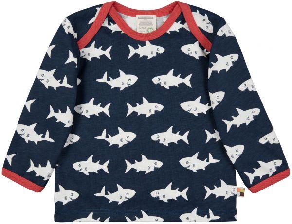Shirt Druck - Ultramarin Hai