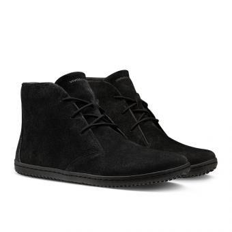 Gobi lll - Obsidian Black Leather