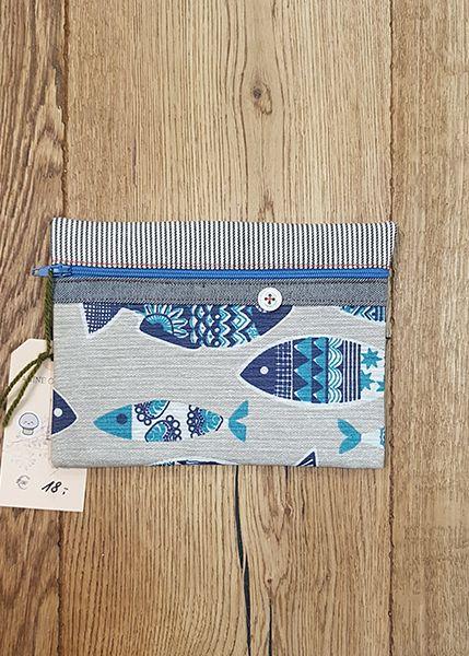 M39 Tasche klein Handarbeit Fische 010516