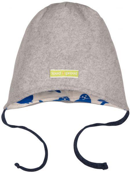 Wendemütze Fleece - Grey Robbe