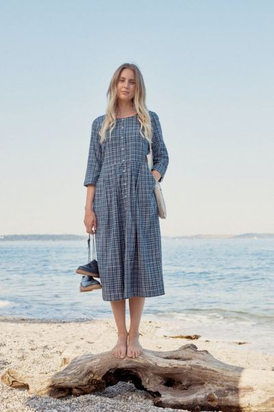 Inner Sky Dress Hachure Harbour Salt