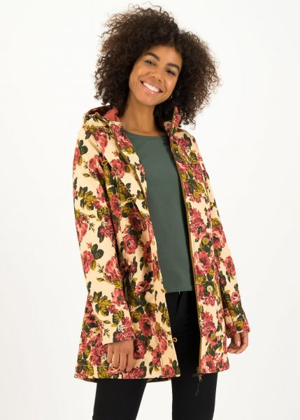 wild weather long anorak - rose tapestry