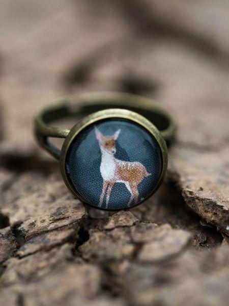 Ring bronze - Reh