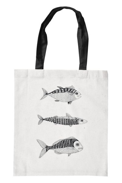 STOFFBEUTEL - FISH