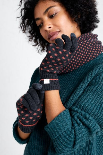 Very Clever Gloves - Confetti Dark Night Copper