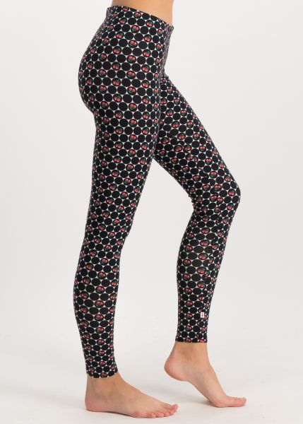 ladylaune legs - super cherry dot