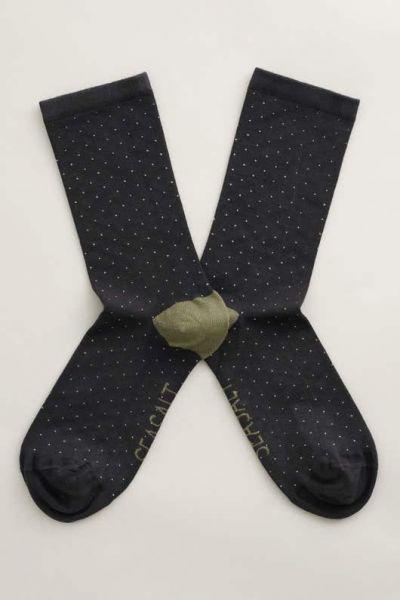 Everyday Socks Mini Confetti Slate