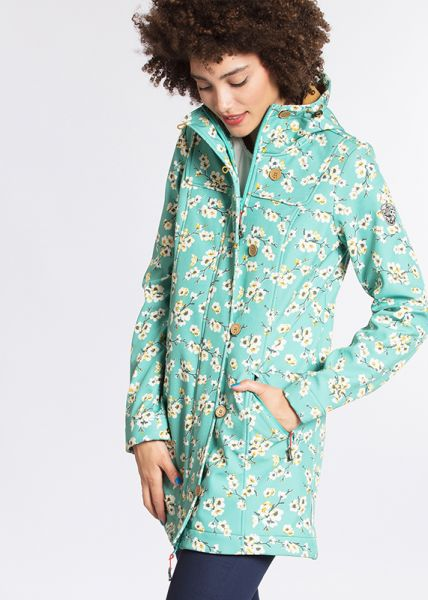 wild weather long anorak - blossom spring time
