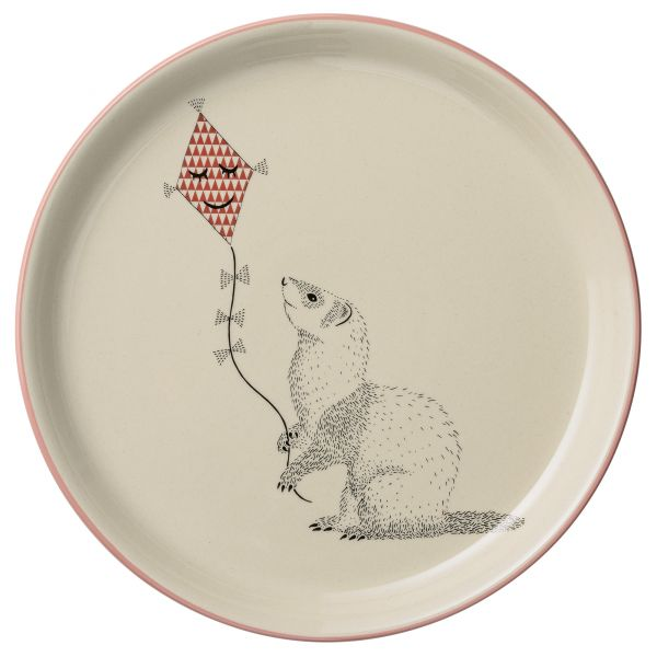 Mollie Plate - white Wiesel