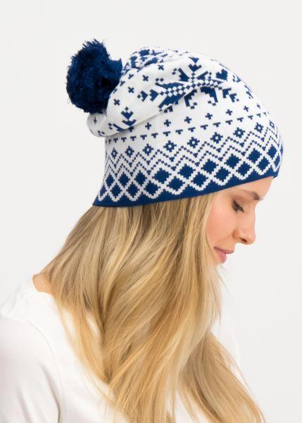 baltic bommel bonnet - norwegian snowflake