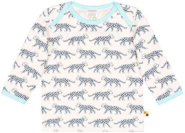 Shirt, Druck - Ultramarin