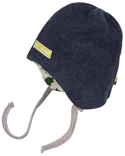 Mütze Fleece Fledermaus - midnight