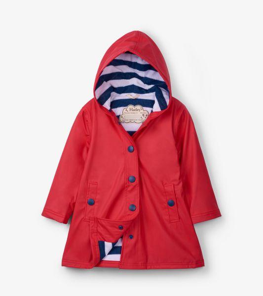 Red & Navy Splash Jacket