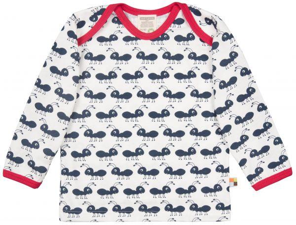 Shirt Langarm - Navi Ameise