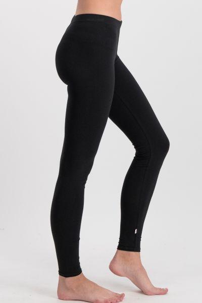 logo leggings - back to black