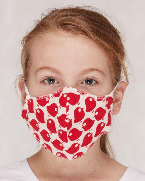 Mund - und Nasenmasken für Kinder - Spatz tomato