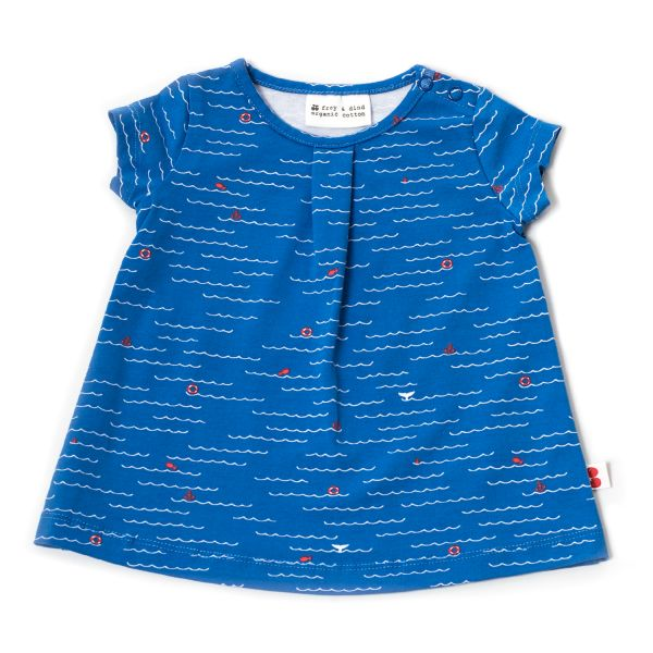 Kleid Rosetta - Ozean