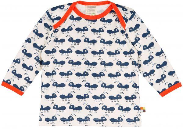Shirt, Druck - Ultramarin - Ameisen