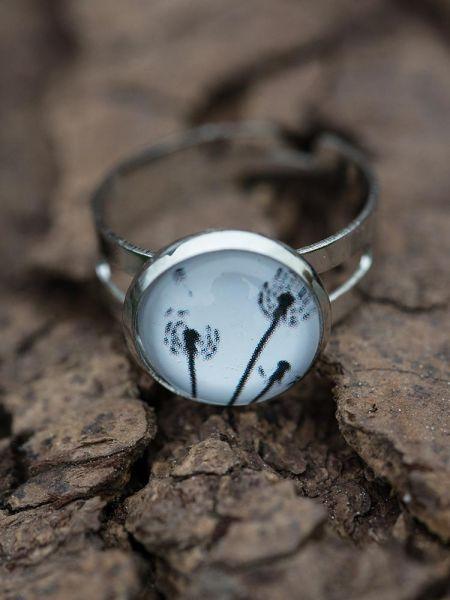 Ring silber - Pusteblume 23_1