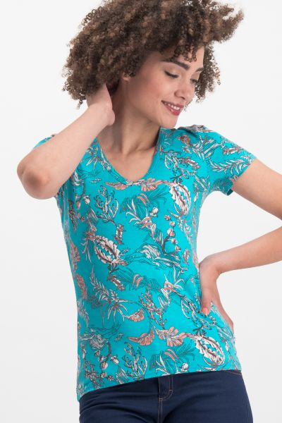 sommerhaus veranda shirt - under the sea