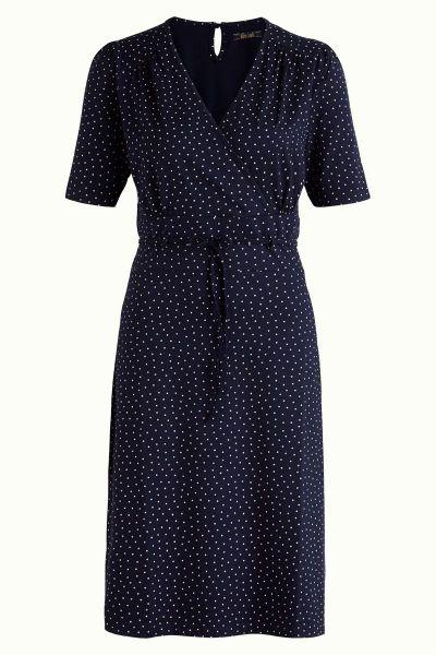 Cecil Dress Little Dots - Nuit Blue