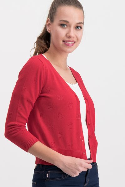sweet petite cardy - red apple