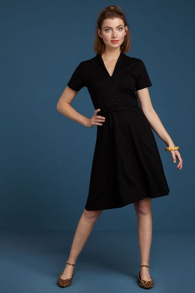Emmy Dress Ecovero- black