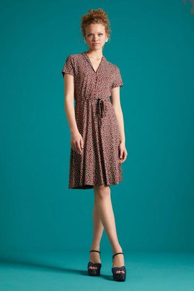 Emmy Dress Sevres - Sandelwood Brown