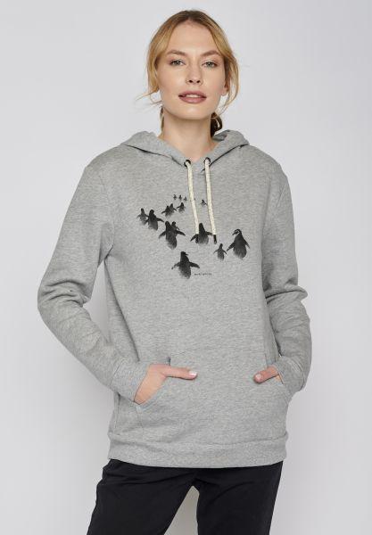 Animal Penguin Walk Chipper - Heather Grey