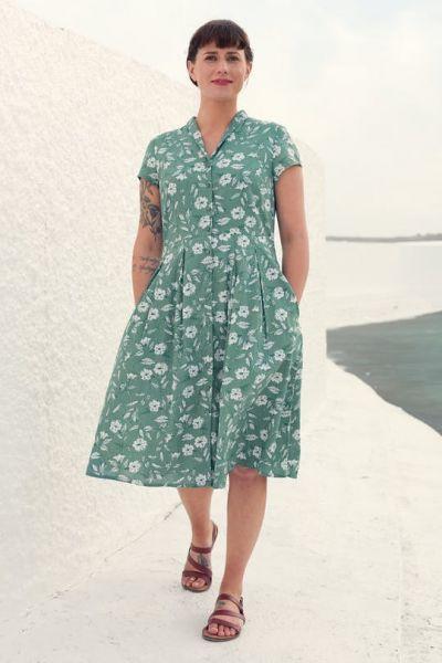 Brenda Dress Moorflower Succulent
