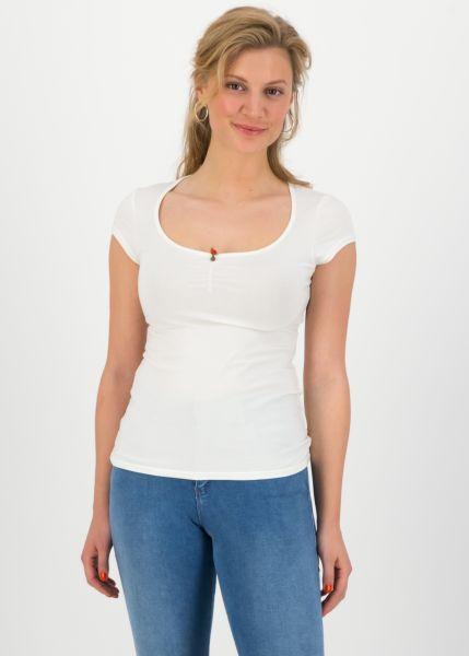 logo shortsleeve feminine - simply white