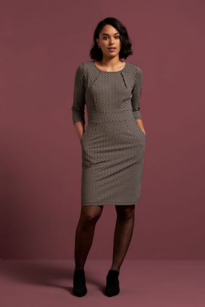 Mona Dress Haberdashery - Black