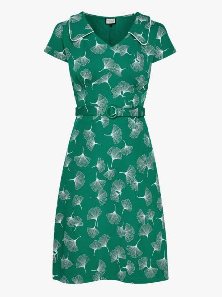 Vintage Moments - Dress - Ginko Leaves Green