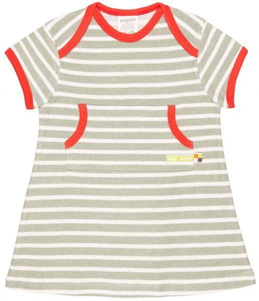 Kleid, Ringel - Olive