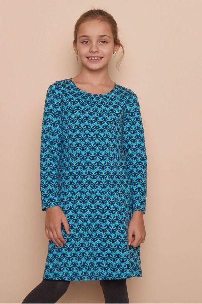 Kinder Jersey-Kleid TRINA (GOTS) - lotus
