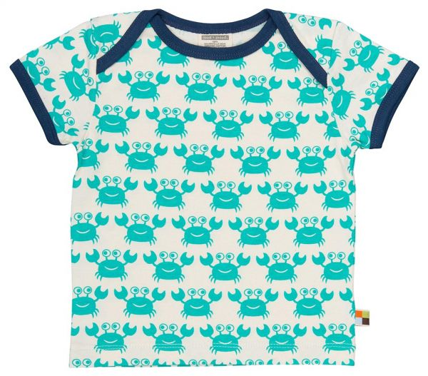 T-Shirt - Smaragd Krebse