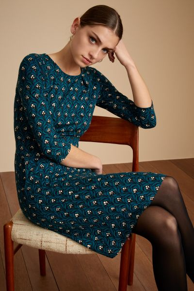 Mona Dress Opera - Orient Blue