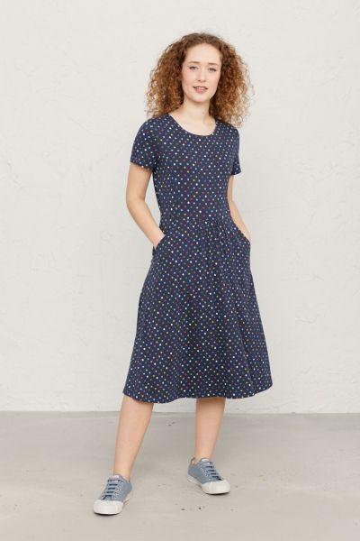 S/S April Dress Polka Dot Waterline