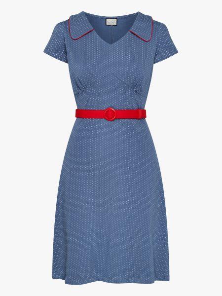 Vintage Moments - Dress - Polkadots Blue