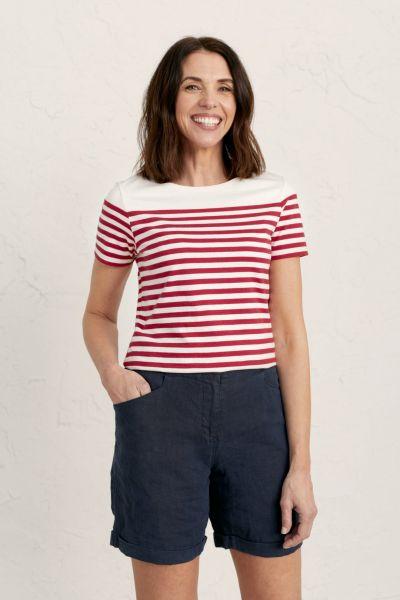 Sailor T-Shirt Falmouth Mini Cornish Fireglow