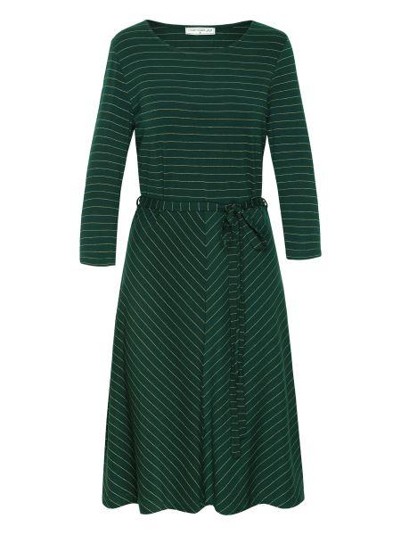 Oh Yeah! Dress - Stripes Green