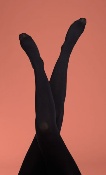 Tights Solid - Black
