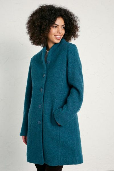 Downas Cove Coat Storm Melange