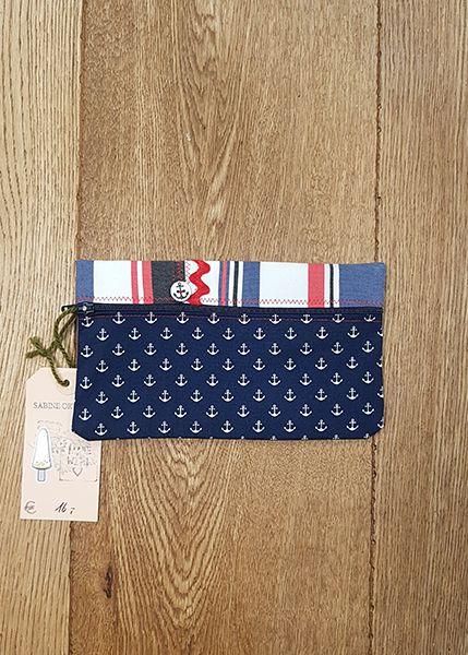 M39 Tasche klein Handarbeit Anker 010509