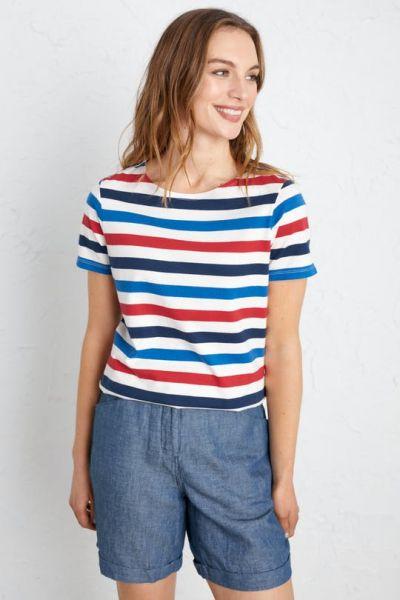 Sailor T-Shirt Tri Cornish Rudder Harbour