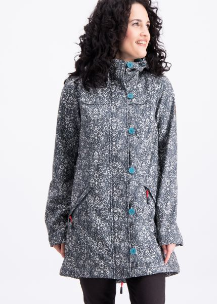 wild weather long anorak - oregon ornamental