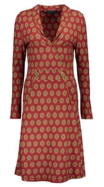 Dress Wrap Sandy - Merlot - Mini Circle