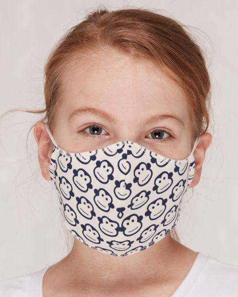 Mund- und Nasenmasken für Kinder - Affe