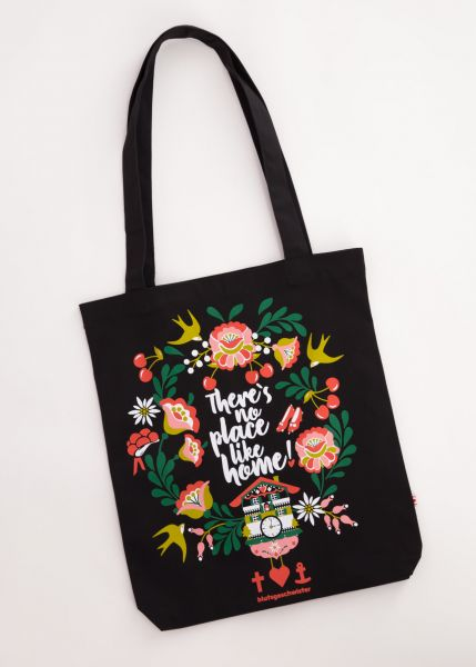Just Wunderbar Tote Bag - black twister bag