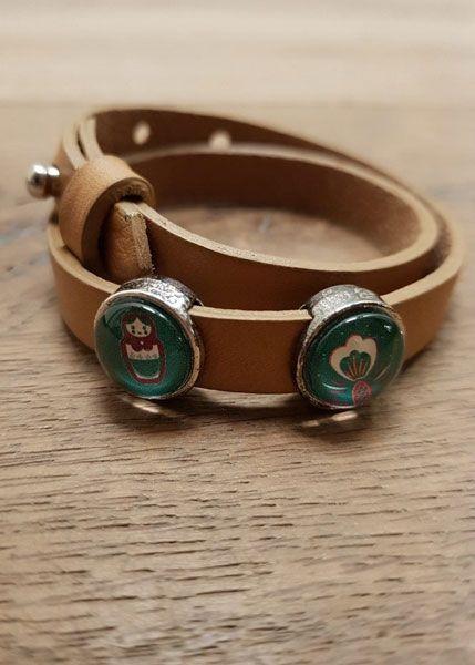 Armband mit Slider-Perlen Matroschka
